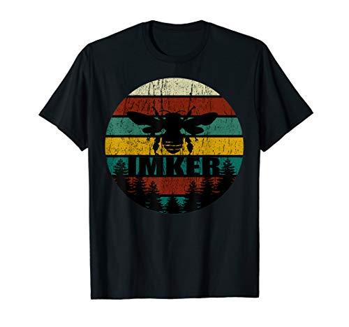 Vintage Retro Imker T-Shirt für herren damen imker geschenk T-Shirt