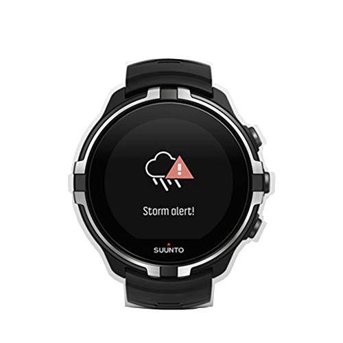 ADMJL Smart Bluetooth Sport Uhr Multifunktions-GPS Elektronische Uhr Stoßfest Wasserdicht Silikon Band Unterstützung für Wettervorhersage Kompatibel mit iOS Android