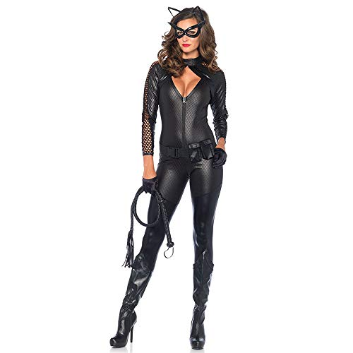 Cosplay Uniforme, Halloween Catwoman Coaplay Uniforme, discothèque Bar DS Pole Dance Show Costume,XL