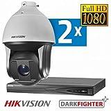 Hikvision IP PTZ Vigilancia Juego Dark Fighter