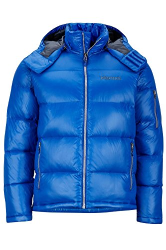 Marmot Men's Stockholm Down Puffer Jacket, Fill Power 700, Surf, Large