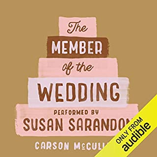 The Member of the Wedding audiobook cover art