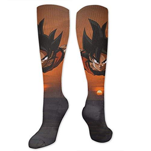 NHUXAYH Dragon Ball Sunset Socks Calcetines atléticos sobre la pantorrilla - Calcetines...