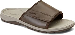 Men's Canoe Stanley Slide Sandal with Concealed Orthotic Arch Support