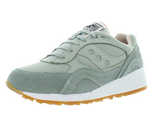 Saucony Uomo Aqua Grigio/Marrone Shadow 6000 HT Perf Sneaker-UK 12