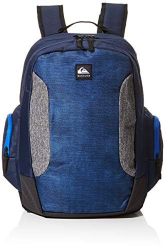 Quiksilver Mens SCHOOLIE Backpack, NAVY BLAZER HEATHER, 1 SIZE