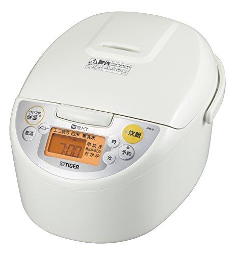 タイガー 炊飯器 IH 5.5合 炊きたて ホワイト 炊飯 ジャー JKD-V100-W Tiger