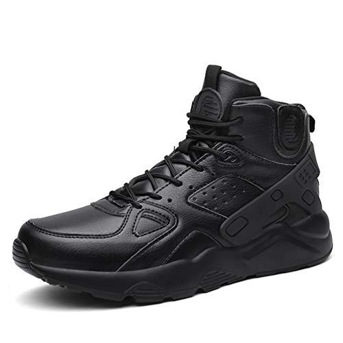 Qianliuk Männer Sportschuhe Sneakers Verschleißfeste rutschfeste solide Basketball-Schuhe High Top Male Ankle Boots