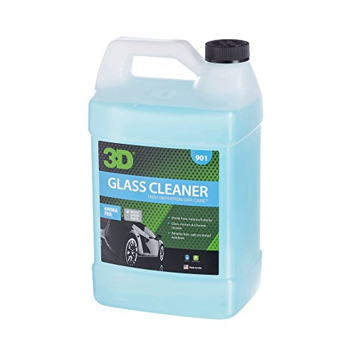 Ready Mix Glass Cleaner - 1 Gallon | Alcohol Based & Amonia Free | Tint Safe, Streak Free Glass Cleaner | Removes Oil & Smoke Film from Windows | Made in USA | All Natural | No Harmful Chemicals