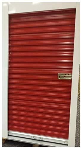 Best Deals! DuroSTEEL Janus 8'x7'4 Mini Storage 650 Series Metal Roll-up Door Hardware Direct