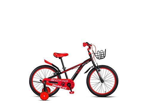 Descheemaeker - Bicicletta da bambino Bobcat 16', colore: Rosso/Nero
