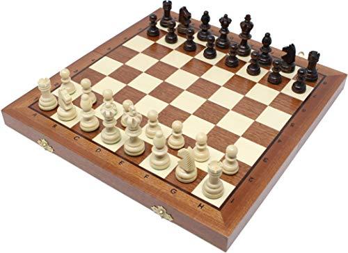 チェスジャパン 木製チェスセット オリンピアード 35cm