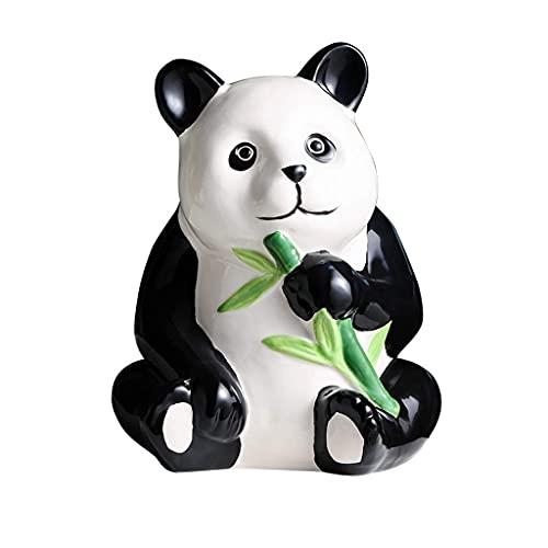 Money Boxes Panda Money Bank, Cerámica Piggy Bank Creative Cute Piggy Banks,Adornos Gift Coin Bank Hucha (Color: Solo adentro Pero no afuera, Tamaño: A)
