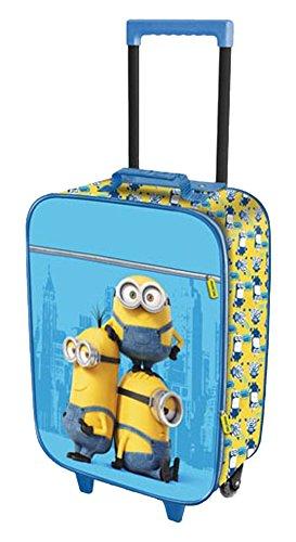 Karactermanía Minions Trolley de Viaje, 21 litros, Color Azul