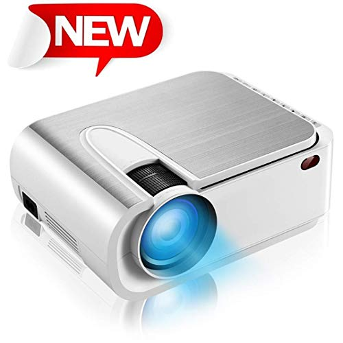 """Projector, HD 3800 Lux Video Projector with 200"""" Display, 60,000 Hours Led Home Theater Projector,Compatible with Fire TV Stick,PS4, HDMI, VGA, AV and USB"""