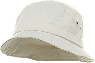 MG Washed Hat-White W12S41E