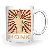 Honk Goose Tazza Bianca Per il Caffè Tè Cappuccino Cacao Mug White Coffee Tea