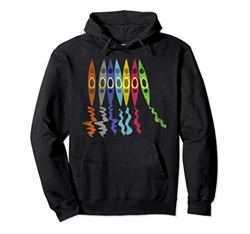 Kanu Fahrer Shirt I Geschenk Kajak I Kayak I Kajakfahrer Pullover Hoodie