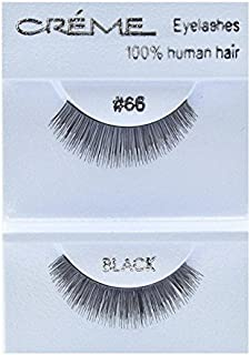 12 packs The Creme Shop 100% Human Hair Eyelashes (#66)