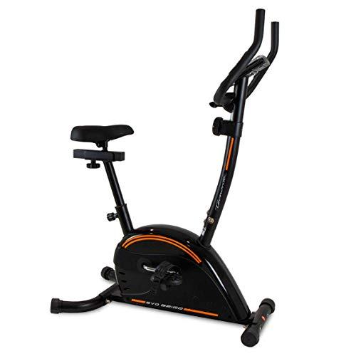 Tecnovita EVO B2100 YH2100 Bicicleta estatica para iniciación. 8 Kg. 8 Niveles manuales. para usuarios de Talla Media