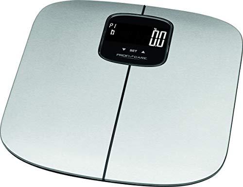 ProfiCare PW 3006 - Báscula baño digital con análisis corporal de 7 funciones diagnóstico