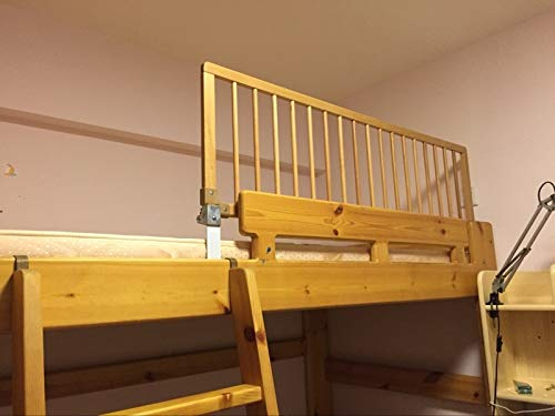Learn More About LHHL Wooden Bed Rail Beds Guard Extra Tall Bedrail Safety,for Kids Baby for Toddl...