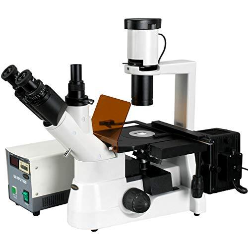 40x-1000x Plan Phase Contrast Culture Microscopio de fluorescencia invertida