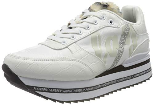 Replay Samoa Zapatillas Para Mujer,Blanco ( 061 Blanco ) , 37 Eu