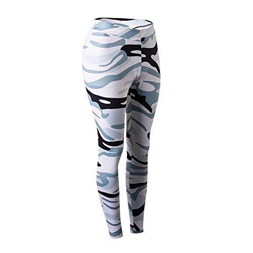 LYWZX Leggings De Yoga para Mujeres Seamless Sports Pants For Women Leggings Squat Proof Women Yoga Pants Sportswear Vital Sports Wear Gym-B_S
