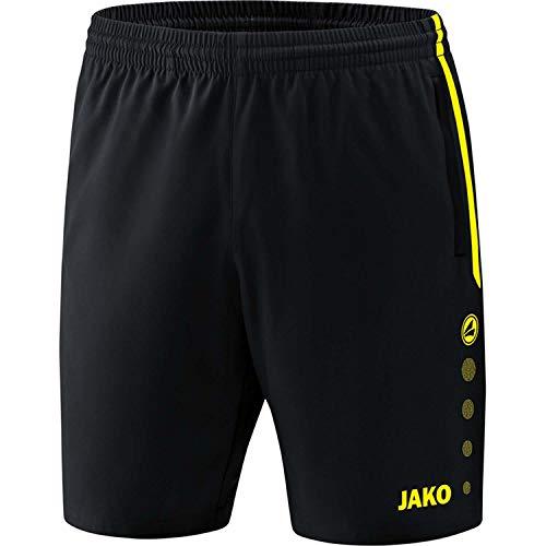 JAKO , Training & Fitness - Kinder , Shorts , Competition 2.0 , schwarz/neongelb , 152 , 6218