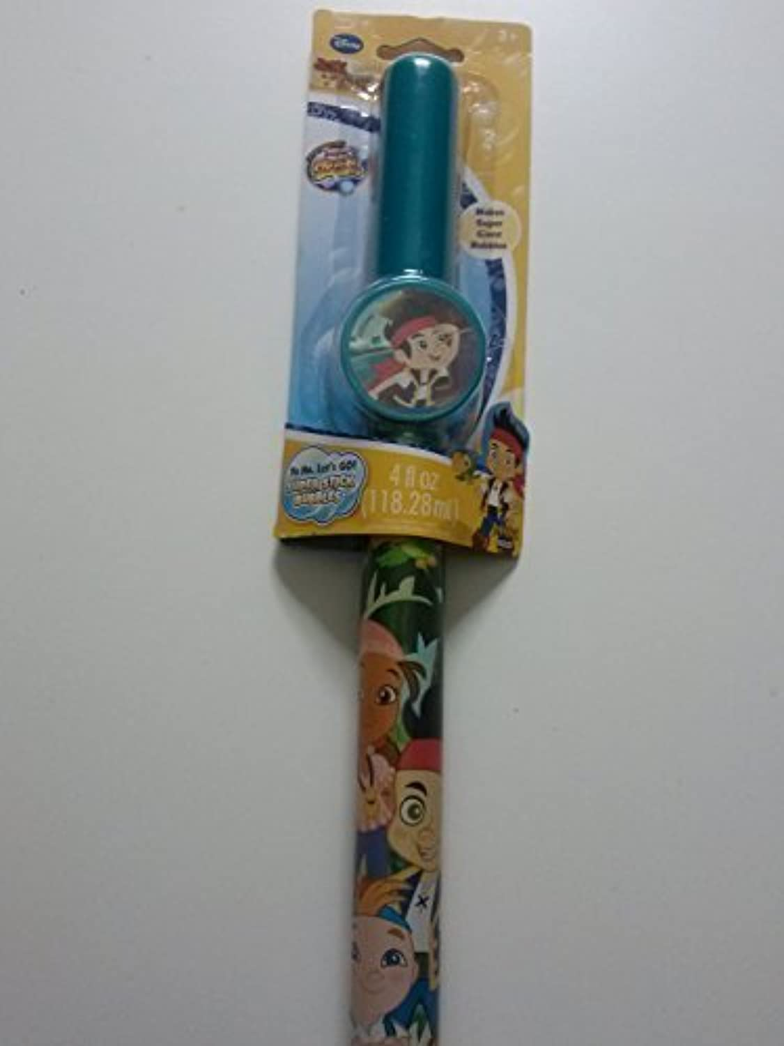 Jake and the Never Land Pirates Yo Ho, Let's Go Super Stick Bubbles by Imperial Toy