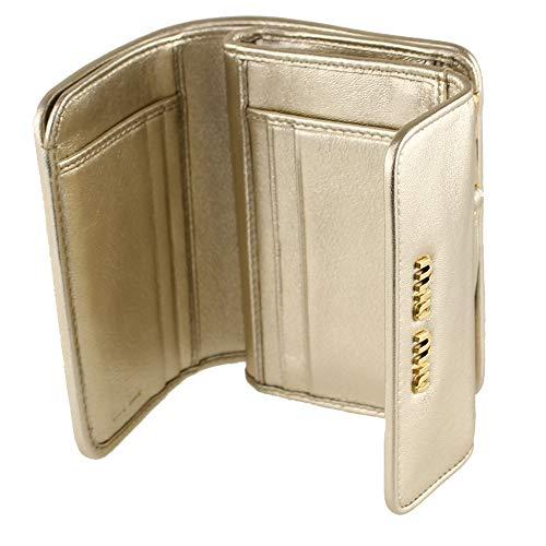 MIUMIU(ミュウミュウ)『折りたたみ財布(5ML0022CAL)』