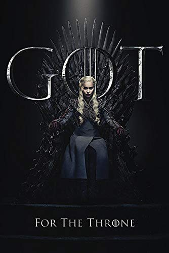 Close Up Poster Game of Thrones - Daenerys for The Throne (61cm x 91,5cm)