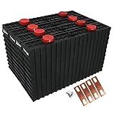 LeiQuanQuan 1/4PCS 3.2V 500AH LIFEPO4 Paquete de células de la batería para 12V 24V 48V Alta Capacidad Almacenamiento Solar Motorhome Carro de Golf Barco YH (Size : 1pcs)
