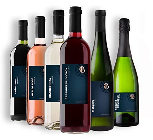 C & H Buhl Exquisite - Probierpaket Alkoholfrei - Rotwein, Weißwein, Rosé - 6x 0,75 L