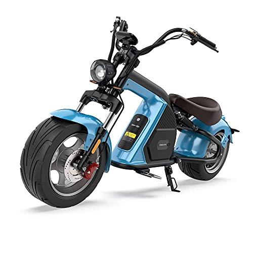 Mada M8 City Coc EEC - Patinete eléctrico, color azul