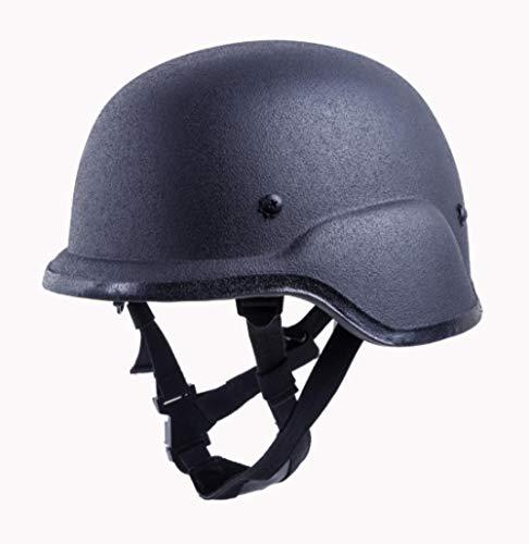 LIUKLAI Kugelsicherer Helm Kevlar Kugelsicherer Helm Kugelsicherer Aufstandshelm taktischer Helm mit Kapuze