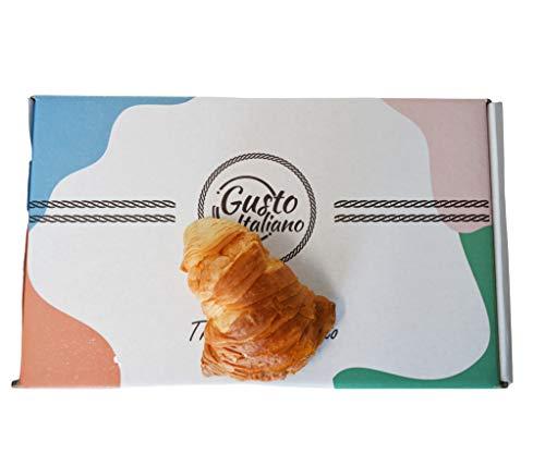 CODINE di Pasta Sfoglia Con Box Regalo RIPIENE AL CIOCCOLATO BIANCO 500 grami Confezionate Singolarmente Artigianali