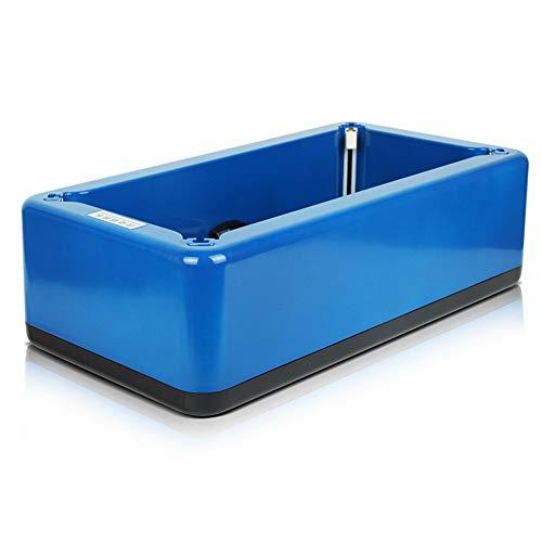 Icegrape - Dispenser automatico per scarpe usa e getta per la casa, medicale, negozio classico Blu