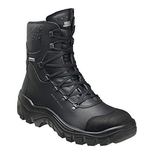 Steitz Secura 730685 STAVANGER Bau GORE II S3 Stiefel, Schwarz, XB Weite, 45 Größe