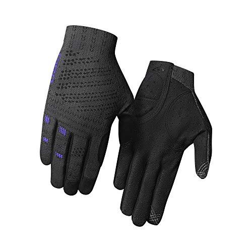 Giro Damen Xnetic W Cyclocross Downhill/Freeride MTB Trail Handschuhe, Titanium/Electric Purple, S (6)