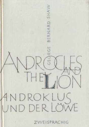Androcles and the Lion - Androklus und der Löwe