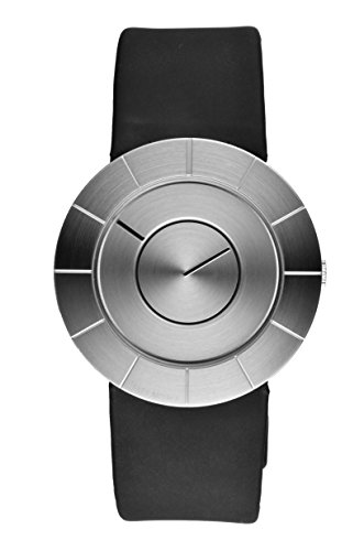 Issey Miyake Men's To Watch IM-SILAN003 With Black Leather Strap
