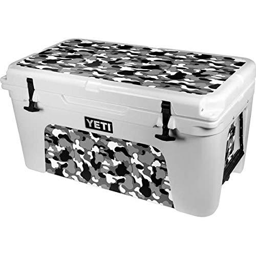 Skinit Decal Skin Compatible with YETI Tundra 65 Hard Cooler - Originally Designed Neutral Street Camo Design