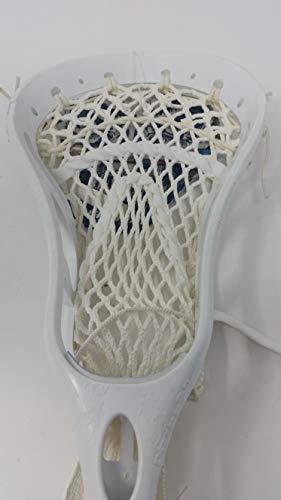 Warrior RAZ2 PP Strung Lacrosse Head, White, HS