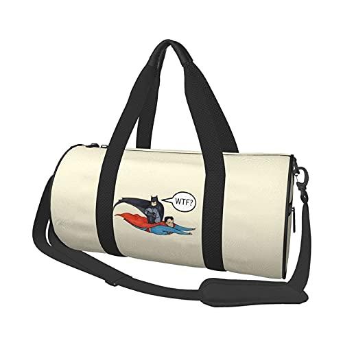 Bolsa de viaje redonda con estilo para deportes, gimnasio, viajes, playa, entrenamiento