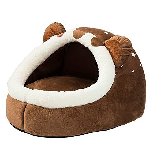 ペットベット クマ クッション ドーム型 熊 Sサイズ 犬猫兼用 洗濯OK 洗える 保温性 丸洗い リバーシブル 滑り止め 犬 いぬ ねこ ネコ 猫 小型犬 軽量 可愛い キャラクター プレゼント UP-607