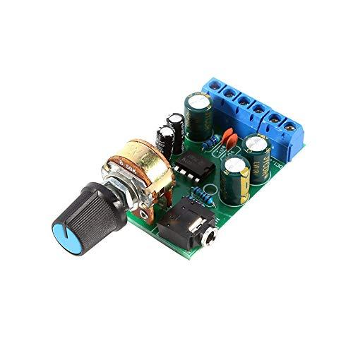 Amplificador Arcade Placa Amplificadora de Audio Estéreo de Doble Canal AMP AUX Módulo de Placa Amplificadora DC 1,8-12 V Placa de Audio