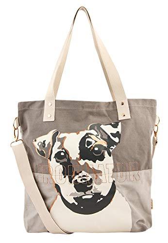 Adelheid Frohnatur Einkaufstasche, Größe:ohne Größe, Farbe:schattengrau