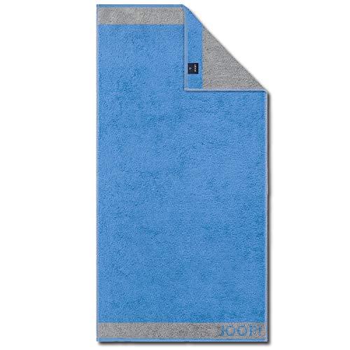 Joop! Gästetuch Diamond Doubleface blau Größe 30x50 cm